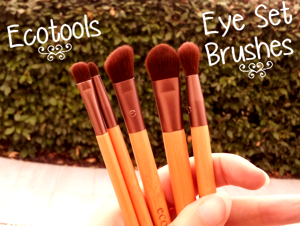 Six Piece Essential Eye Set travel kit Ecotools