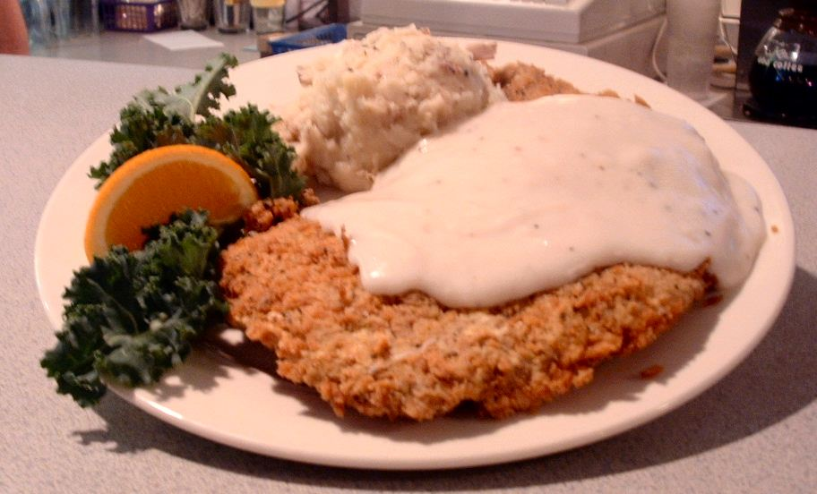 Mrs. Garcia's Kitchen: Chicken Fried Chicken with Country Gravy