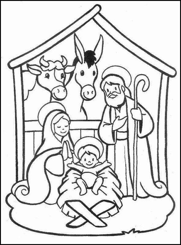 Tarjetas de navidad imagenes de navidad para colorear - Dibujos para pintar navidad ...