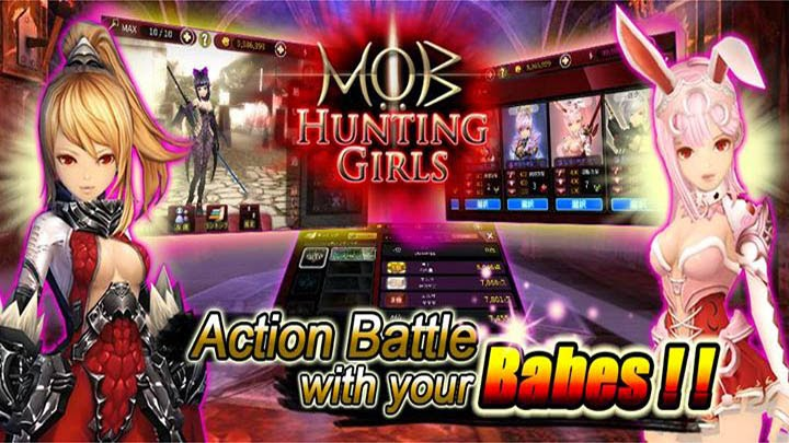 Hunting Girls : Action Battle Gameplay IOS / Android