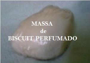 Massa de Biscuit Perfumado