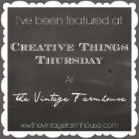 http://www.thevintagefarmhouse.com/2014/01/creative-things-thursday.html