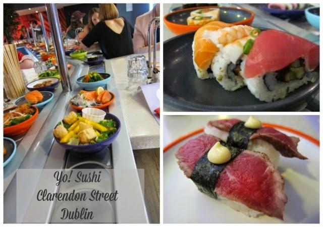 Yo! Sushi, Clarendon Street, Dublin