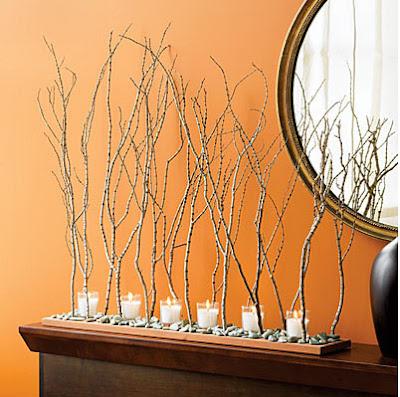 Decorating With Twigs Remodelando La Casa Decorating With Tree Branches