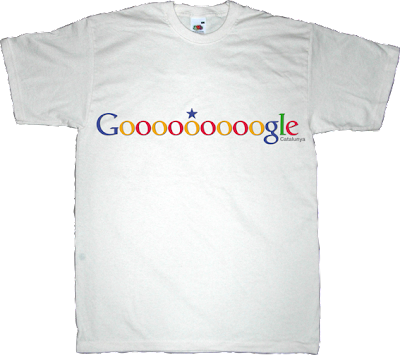 catalonia, catalan independence freedom google 11 septembre 11S t-shirt ephemeral-t-shirts