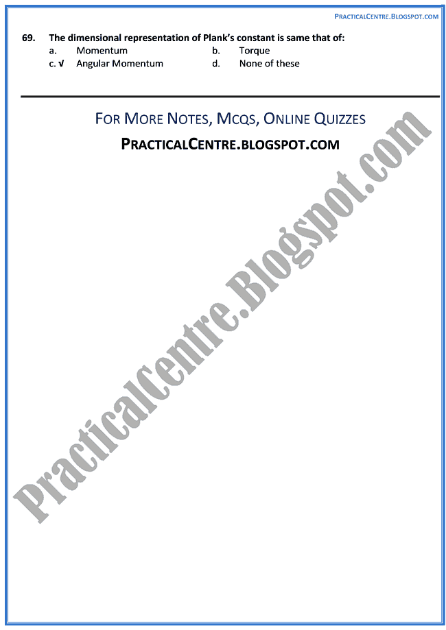 advent-of-modern-physics-mcqs-physics-12th