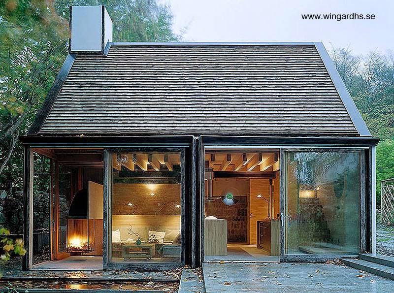 Arquitectura De Casas Peque A Casa De Ba Os En El Campo