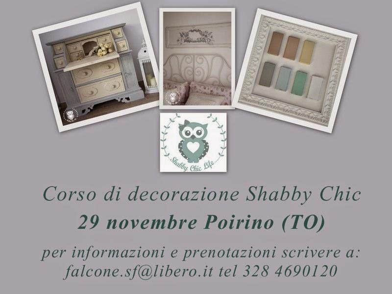 Corso di decorazione Shabby Chic, Piemonte