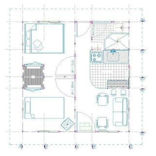Planos de casas modelos y dise os de casas planos de for Casa minimalista planos dwg
