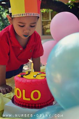 To My Three Year Old Boy