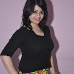 Suhani in Tight Black Tops Spicy Photos