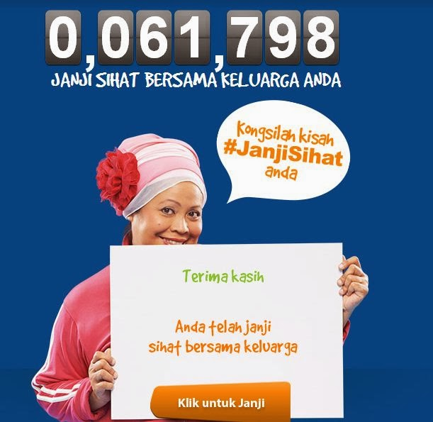 Nestle Malaysia contest Janji Sihat