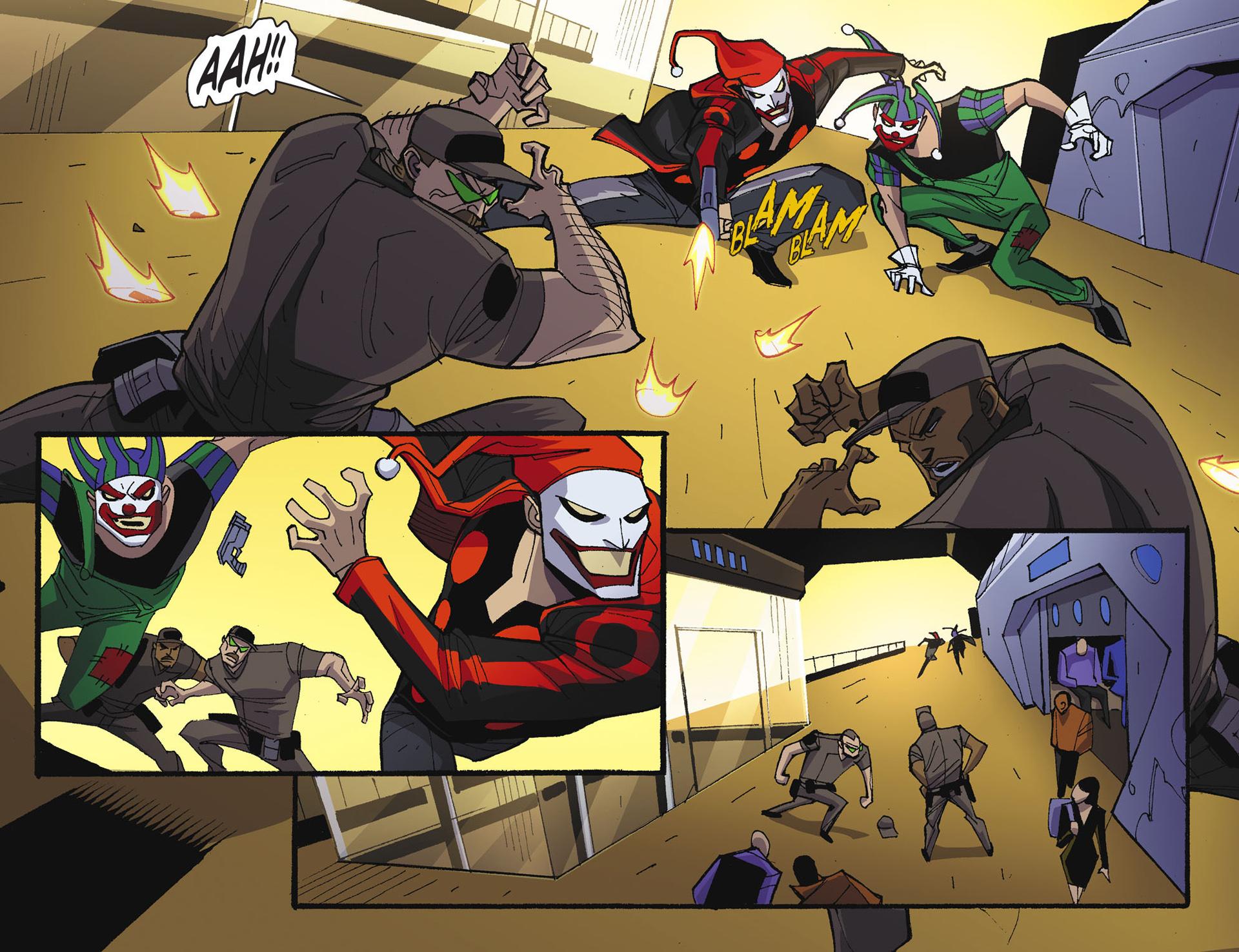 Batman Beyond 2.0 #17 #24 - English 8