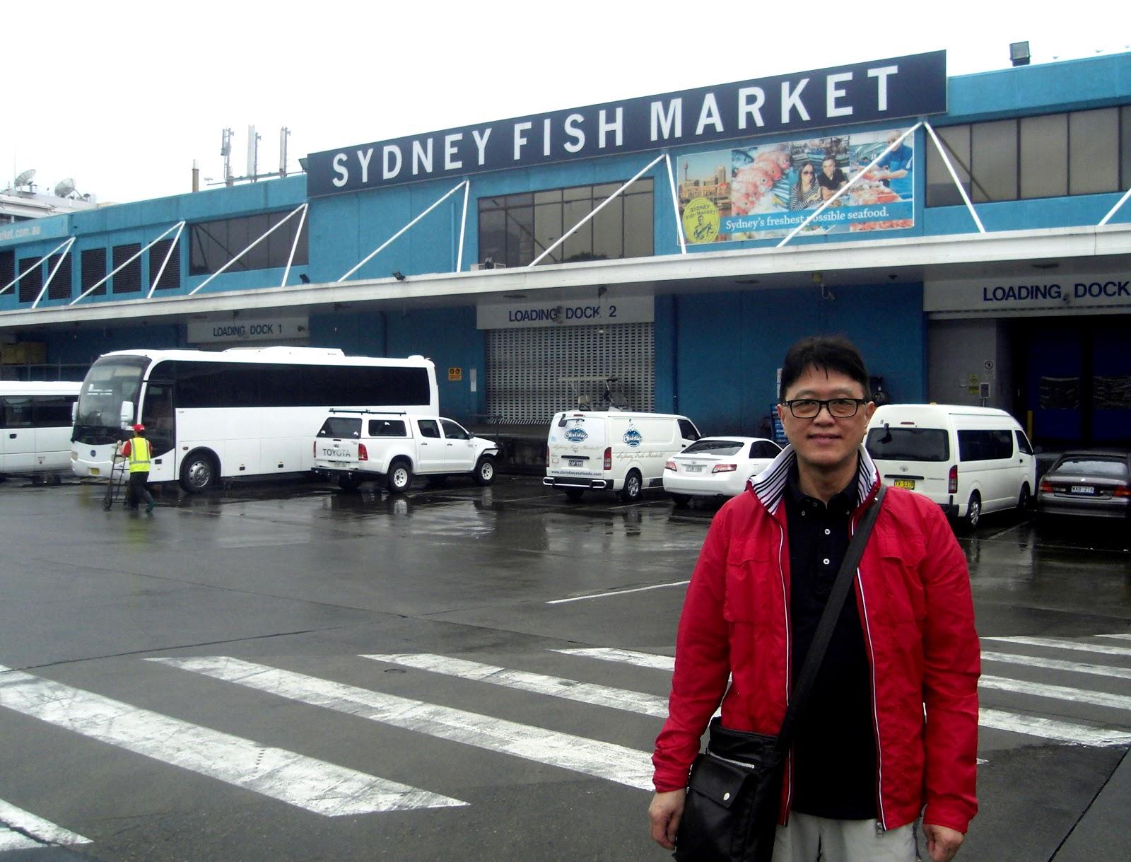 Travel blog sydney melbourne 10 days trip feb 22 to mar for La fish market