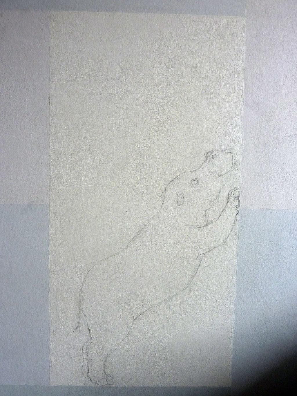 MEvR de Wit: Een muur vol Grote Grijze Beesten