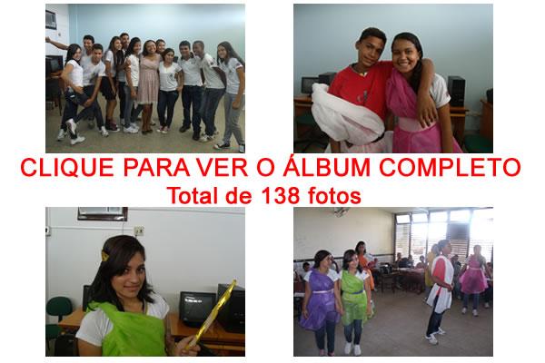 Clique para ver todas as fotos da peça de teatro no colégio Minhocão de Bacabal