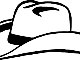 Cowboy Hat And Boots Coloring Pages
