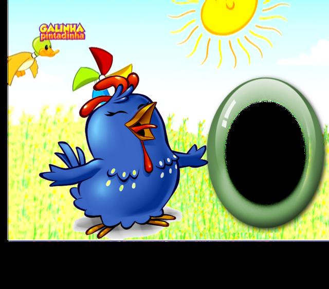 Molduras galinha pintadinha - Molduras para fotos