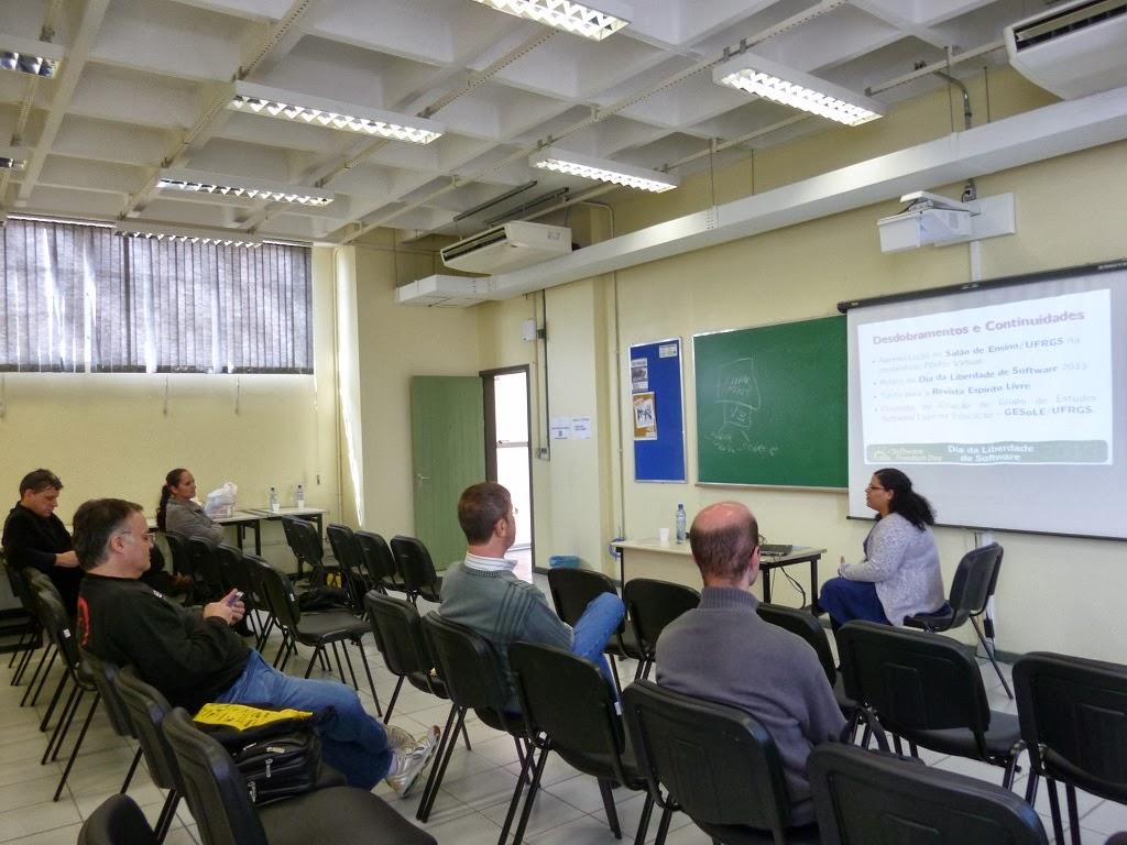 palestras experiencias software livre ensino superior dia liberdade software novo hamburgo 2013