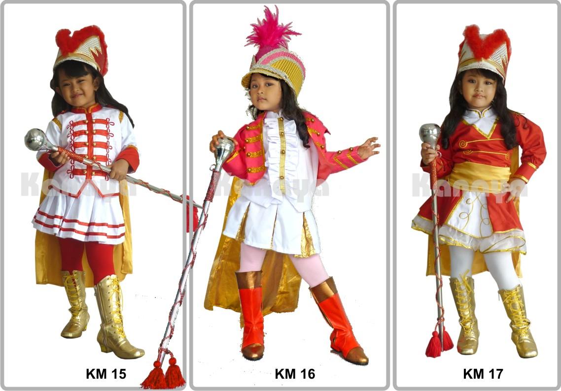 Desain Kostum Mayoret Gitapati