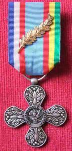 Croix du Combattant Volontaire Missions Extérieure