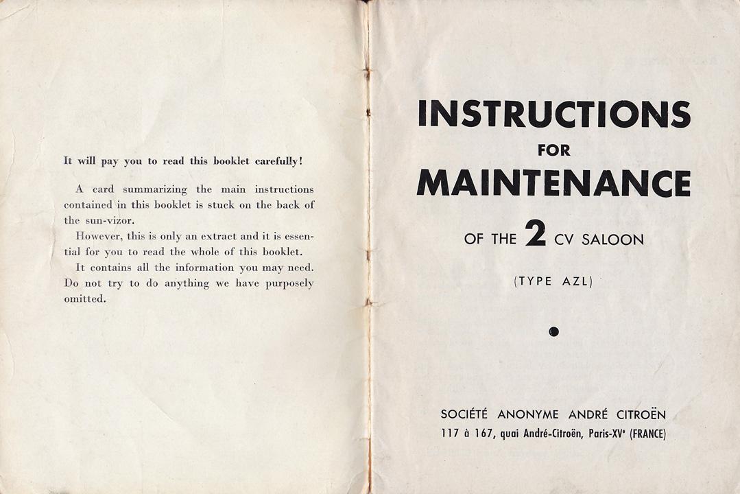 bz s bmw isetta 300 s citroen 2cv owners manual 1959 edition rh bzisettas blogspot com citroen 2cv repair manual download citroen 2cv repair manual download