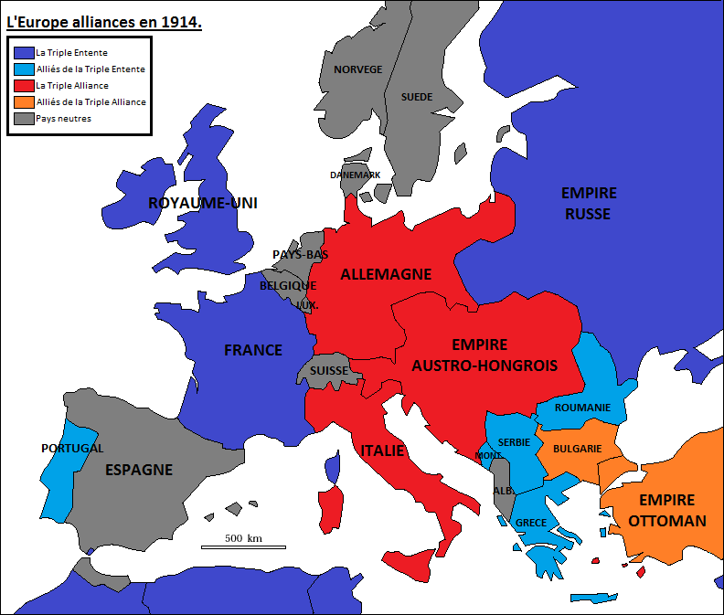 pre ww1 alliances