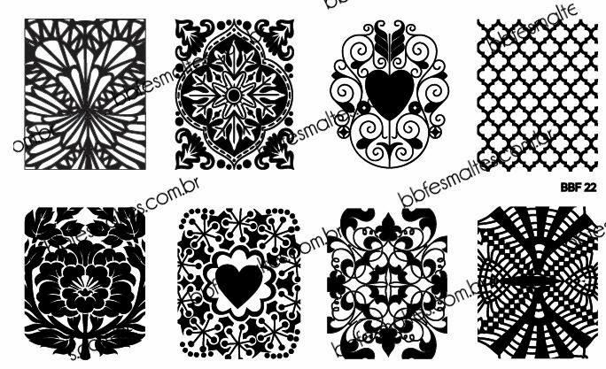 Lacquer Lockdown - Loja BBF, LojaBBF, BBF plates, stamping, nail art, new stamping plates 2014, new nail art plates 2014, new image plates 2014, pueen 2014, cici and sisi, stamping nail art, new plates 2014, diy nail art, at home nail art, cute nail art idea, floral nail art, flower nails, abstract nail art, abstract nail art designs