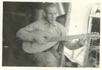 Chipman playing a musical instrument