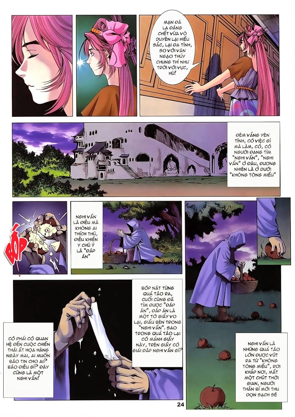 Lục Đạo Thiên Thư chap 14 - Trang 24
