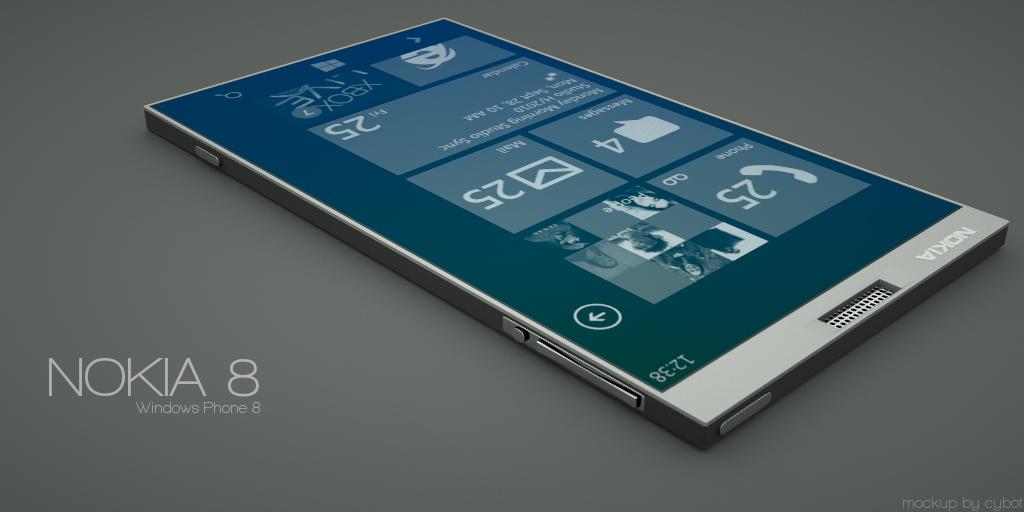 Amazing Future Technology: Windows Phone 8 Nokia 8 Concept