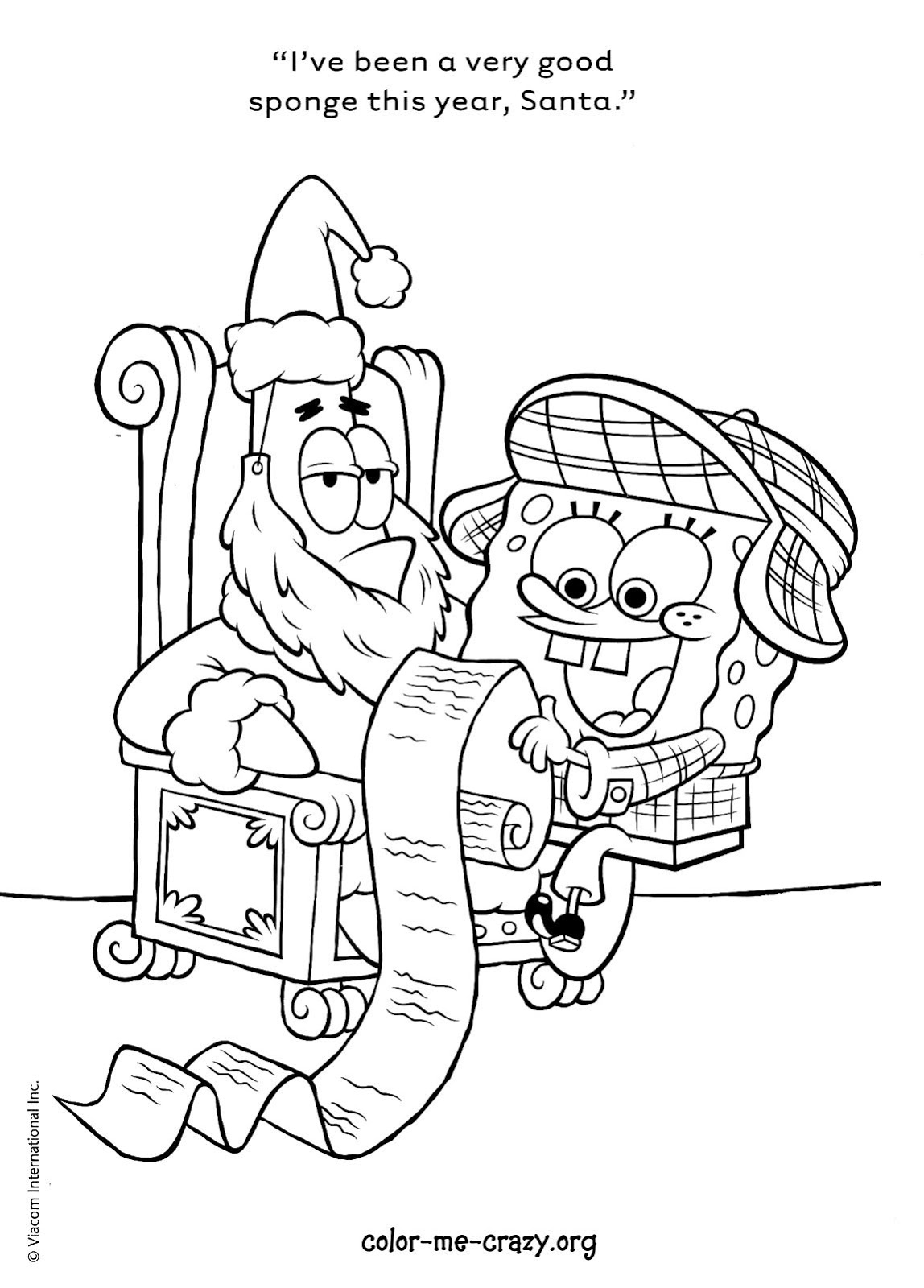 spongebob krabby patty coloring pages - photo#18