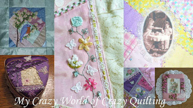 My Crazy World of Crazy Quilting