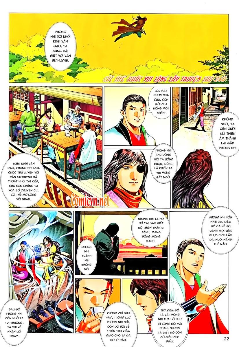 Phong Vân chap 647 Trang 22 - Mangak.info