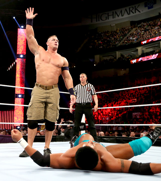 Ryback Bench Press: I LOVE WWE: DARREN YOUNG V/s JOHN CENA