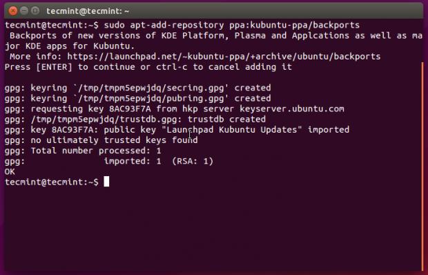 Cara Install KDE Plasma 5.3 di Ubuntu 14.04 - 15.04