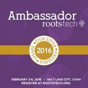 Ask me about RootsTech!