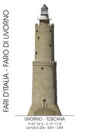 Il faro di Livorno : uno dei più antichi d'Italia