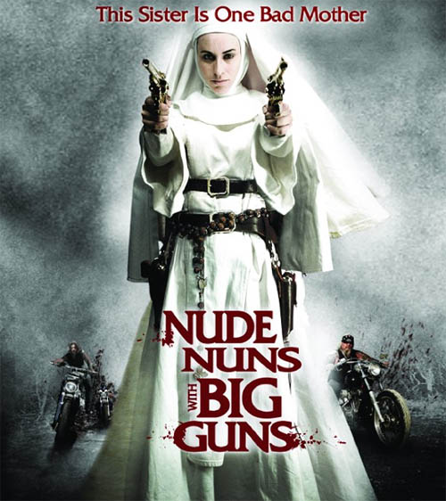 Even if the poster doesn't feature a nude nun (or multiple ones), ...