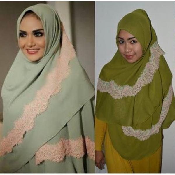 Jilbab Instant / Langsung Pakai