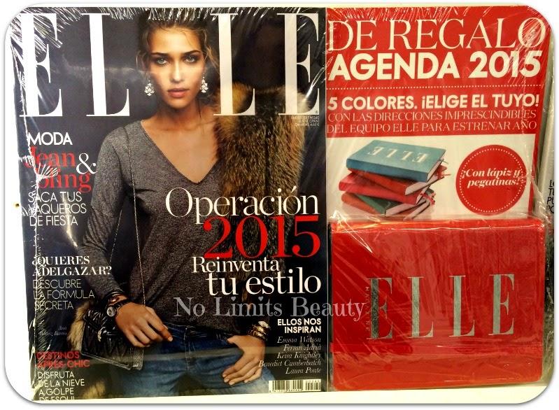Regalos revistas Enero 2015: Elle