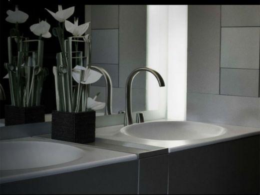 Griferia Vidrio Cascada Para Baño Diseno Elegancia:Baño de diseño espectacular