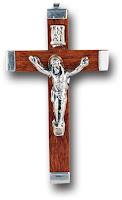 metal bound crucifix