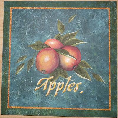 Apples,Pommes,Peinture