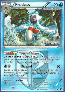 Froslass Plasma Blast Pokemon Card