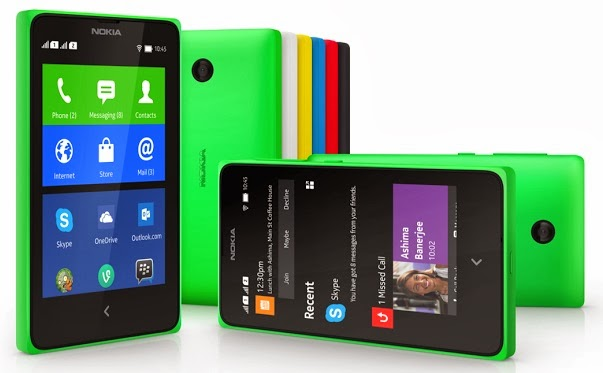 Nokia X colors