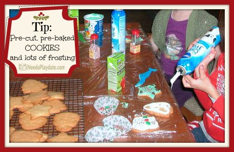 Tip: Pre-make the cookies (pre-cut is even better) | @MryJhnsn