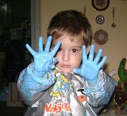 Estos son los obsequios que les hice a mis hijos en el día del niños.
