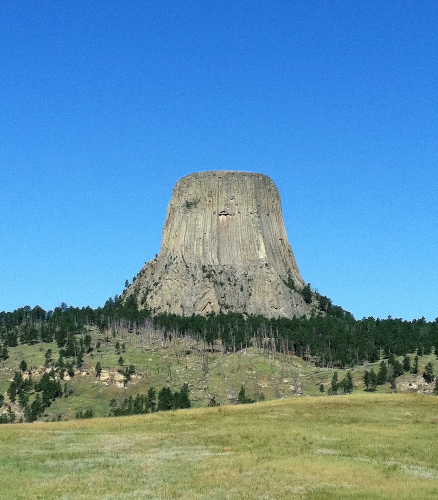 Adventures in the Champagne Chevy: Devil's Tower, WY ...