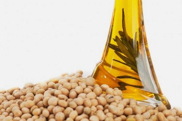 Tinh dầu đậu nành thường được dùng để chế biến viên uống nhau thai cừu làm trắng da